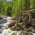 Alpine Waterwheel by James Billings