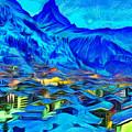 Alps Of Switzerland - Pa by Leonardo Digenio