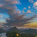 Alpsee Lake by Valerio Poccobelli