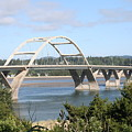 Alsea Bridge Br 7002 by Mary Gaines