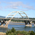 Alsea Bridge II Br-7005 by Mary Gaines