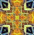 Altar Cross Tapestry by Marshall Thomas
