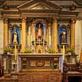 Alter Of The Mission San Buenaventura by Mountain Dreams