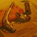 Alto Saxophone Neck And Mouthpiece by Jamey Balester