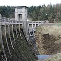 Alwen Reservoir Dam by Christopher Rowlands