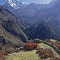 Ama Dablam Nepal In November by Rudi Prott
