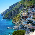 Amalfi Coast, Positano, Italy by Ron Bartels