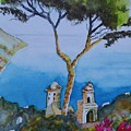 Amalfi Italy Color by Warren Thompson