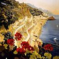 Amalfi by Nostalgic Prints
