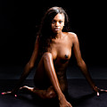 Amani African American Nude Sensual Sexy Fine Art Print 4996.02 by Kendree Miller