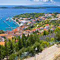 Amazing Historic Town Of Hvar Aerial View by Brch Photography