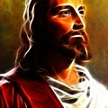 Amazing Jesus Portrait by Pamela Johnson