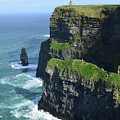 Amazing Look At The Sea Cliff's Of Moher In Ireland by DejaVu Designs