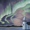 Amazing Northern Lights by Sheryn Johnson