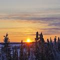 Amazing Winter Sunrise by Brian Kamprath