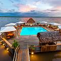 Amazon Swimming Pool by Jess Kraft