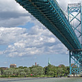 Ambassador Bridge - Windsor Approach by Ann Horn