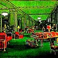 Ambassador Hotel Lobby, Los Angeles, 1935 by Dwight Goss