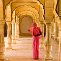 Amber Fort Temple by Bill Bachmann - Printscapes