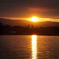 Amber Sunset by Wayne Enslow