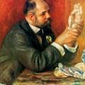 Ambroise Vollard 1908 by Renoir PierreAuguste