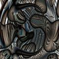 Ameboids by Ron Bissett