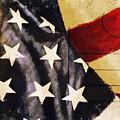 America Flag Pattern Postcard by Setsiri Silapasuwanchai