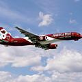 America West Boeing 757 Arizona Cardinals by J Biggadike