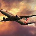 American Airlines 767 N345an by J Biggadike