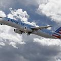 American Airlines Airbus A321 by J Biggadike