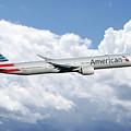 American Airlines Boeing 777 by J Biggadike