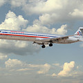 American Airlines Md-80 by J Biggadike