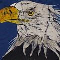 American Bald Eagle Fine Art Batik by Kay Shaffer