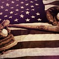 American Baseball Grunge by Dan Sproul