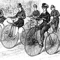 American Bicyclists, 1879 by Granger