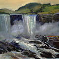 American Bridal Veil Falls  by J R Baldini