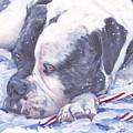 American Bulldog Christmas by Lee Ann Shepard