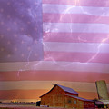 American Country Stormy Night by James BO Insogna