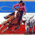 American Cowgirl by John Lautermilch