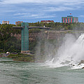 American Falls And Rainbow Bridge by Jerry Fornarotto