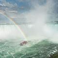 Horseshoe Waterfall At Niagara Falls by Steven Heap