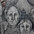 American Family ? 2 by Susan Brown    Slizys art signature name