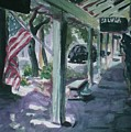 American Flag by Aleksandra Buha