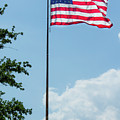 American Flag Flying Proud by By Way of Karma