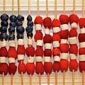 American Flag In Summer Fruits by James Brunker