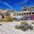 American Flat Mill Virginia City Nevada Panoramic by Scott McGuire