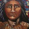 American Indian Portrait by Randie Lee