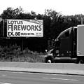 American Interstate - Pennsylvania I-80 Bw 2 by Frank Romeo