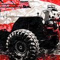 American Jeep Cj - Boulder Approved Mud Bog Ready by Luke Moore