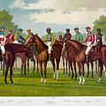 American Jockeys, 1889 by Granger